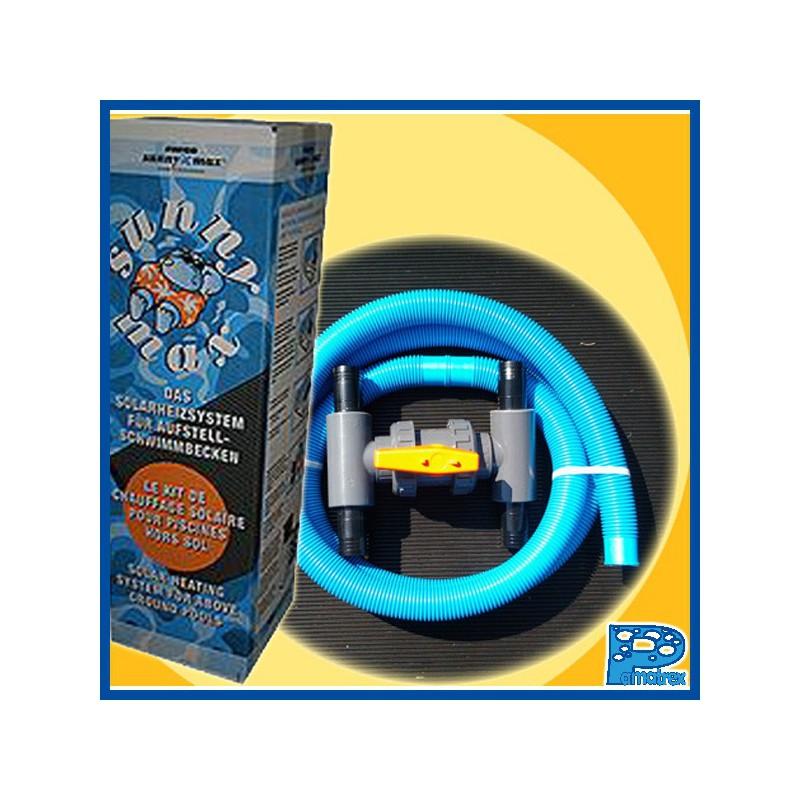 Kit de d rivation light pamatrex sa piscines for Chauffage piscine blue