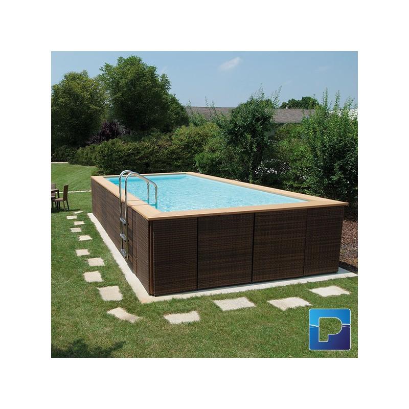 Dolcevitagold 3 x 7m hors sol pamatrex sa piscines for Piscine hors sol laghetto
