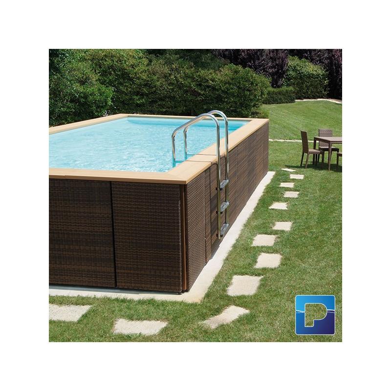 dolcevitagold 6 x 12m hors sol pamatrex sa piscines laghetto suisse. Black Bedroom Furniture Sets. Home Design Ideas