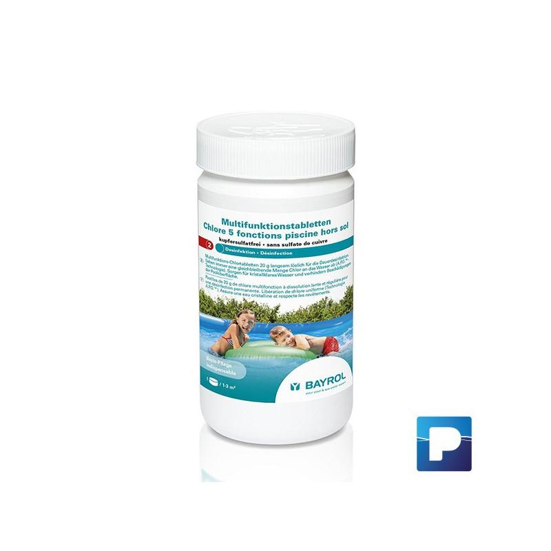 Chlore 5 fonctions pour petites piscines pamatrex sa for Achat sulfate de cuivre pour piscine