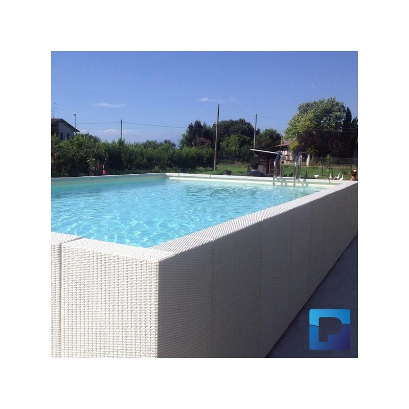 Dolcevitacountry 5 x 10m pamatrex sa piscines laghetto for Piscine bois 10m