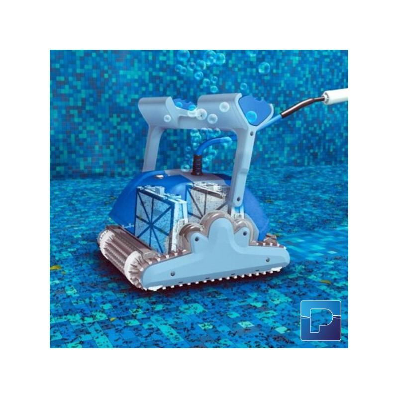 Robot dolphin m400 gyro pamatrex sa piscines laghetto for Avis robot piscine dolphin