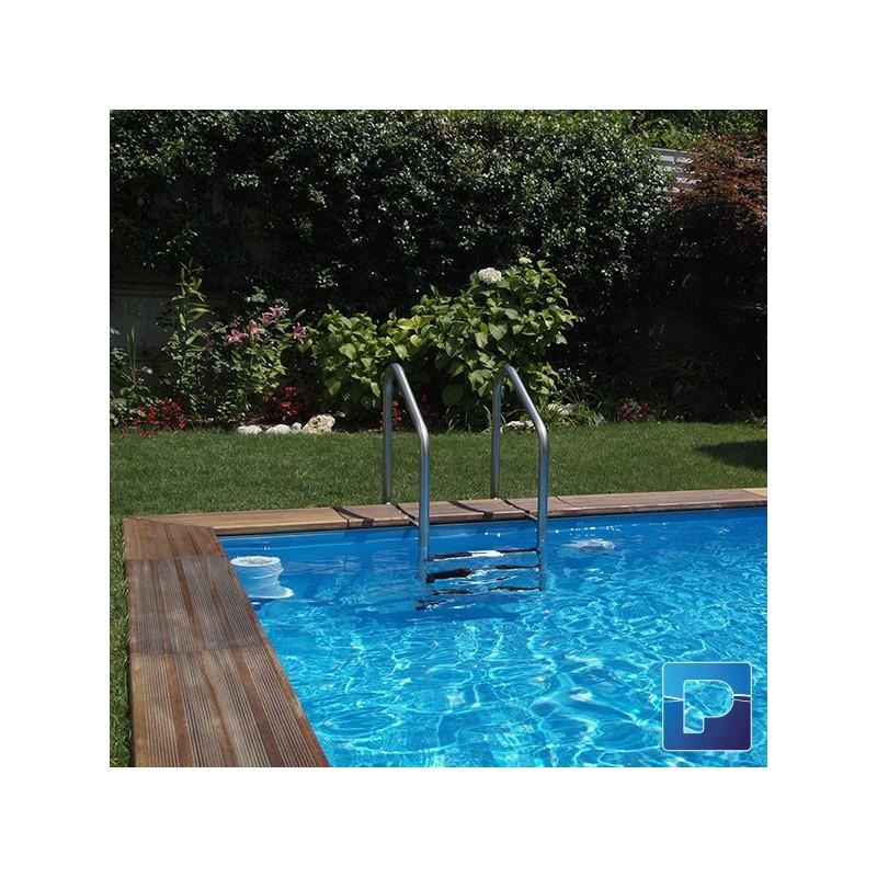 Dolcevitagold 2 5 x 4m enterrer pamatrex sa piscines for Piscine a enterrer