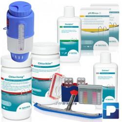 Wasserbehandlungs-Set zu Schwimmbecken bis 40m3