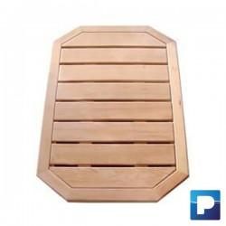 Base pour douche en bois