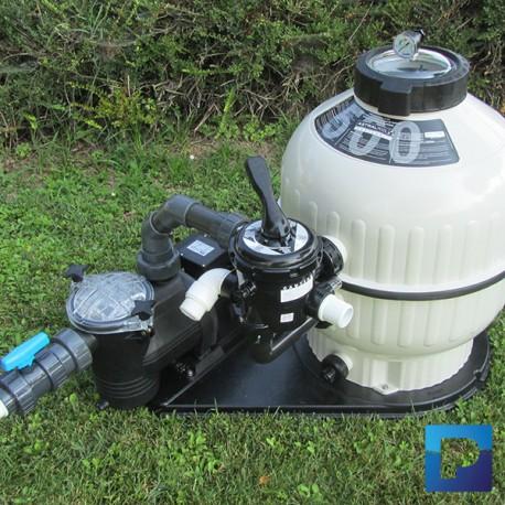 Groupe de filtration LAGHETTO à sable 15m3/h