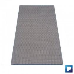 Panneau en fibres 0,75m couleur gris