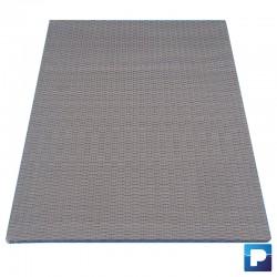 Paneel aus Korbgefleecht 1,00m Farbe Grau
