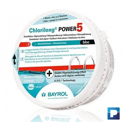 Chlorilong POWER5 Bloc à 0,65kg (Multibloc)